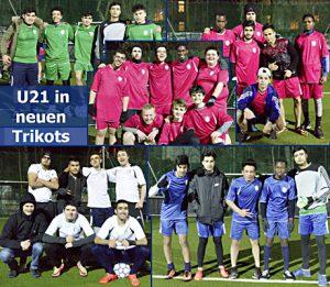 U21 in neuen Trikots